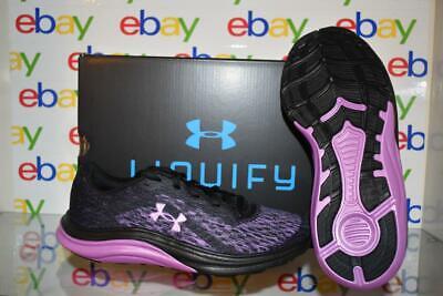 Under Armour Women/'s Dash RN 2 D Wide Running Shoes 1285980 001 Black NIB