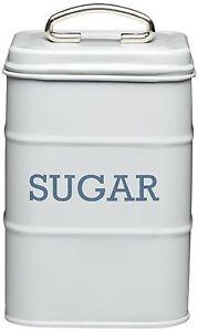 Cocina-Arte-Living-Nostalgia-Bote-estano-Azucar-Sugar-Gris-Detallista
