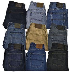91f78ce5 Lee Jeans Premium Select Regular Straight Leg Fit Mens 29 30 32 33 ...