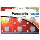 Panasonic 6 Piles Bouton CR2032 3V - Argenté