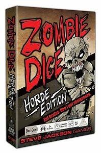 Zombie Dice Horde Edition Steve Jackson Games SJG 131341 Includes 2 3 Bag Family