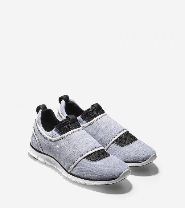 Cole Haan Zerogrand Slip-On Women's Sneaker Gry Optic Wht,Gy 6 M D44030