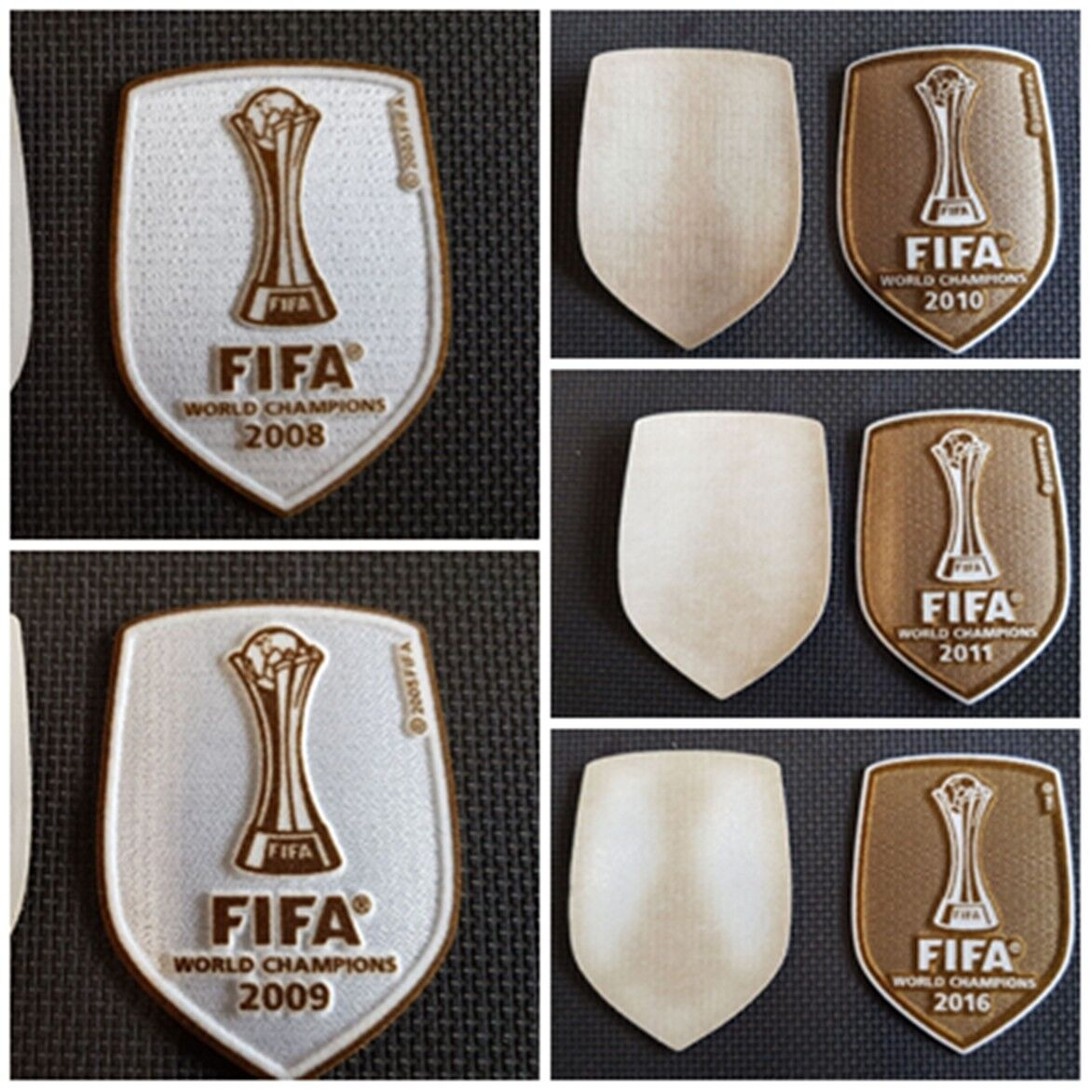 LEXTRA SPORTING ID PATCH FIFA WORLD CHAMPIONS CLUB PATCH BADGE PATCH