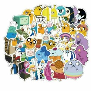 NEW-25-ADVENTURE-TIME-Stickers-Laptop-Walls-PC-039-S