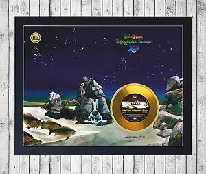 YES-TALES-FROM-TOPOGRAPHI-CUADRO-CON-GOLD-O-PLATINUM-CD-EDICION-LIMITADA-FRAMED
