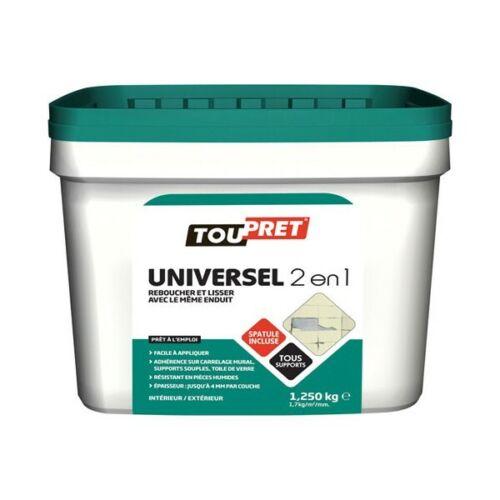 TOUPRET Enduit universel 2en1-1.25 Kg