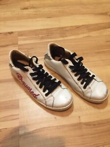 Details zu Dsquared Dsquared2 Schuhe Sneaker Herren Leder Gr. 44 No Supreme Off White
