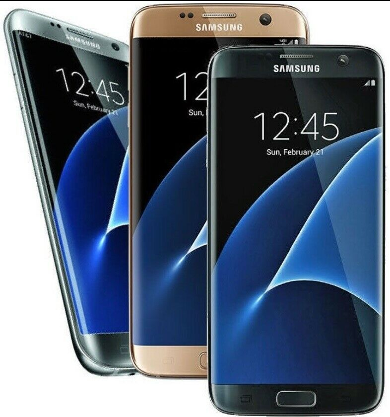 For Parts Black Samsung Galaxy S7 Edge Live Demo Unit Sm G935x Cell Phone For Sale Online Ebay