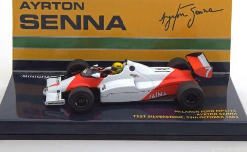 1:43 Minichamps McLaren Ford MP4//1C Test Silverstone Senna 1983