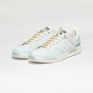 Details about ADIDAS X RAF SIMONS STAN SMITH PEACH LIGHT SAND / WHITE  SS2019 'TROMP-L'OEIL'