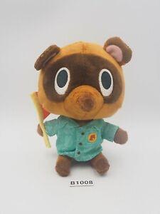 "Animal Crossing B1008 Tom Nook Sanei 2020 Plush 5"" Stuffed Toy Doll Japan"