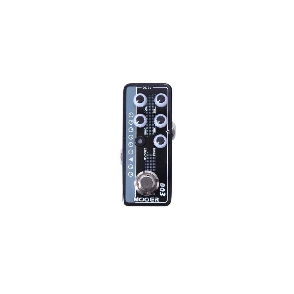 Mooer 003 Power-Zone Micro Preamp Tube Amplifier Emulator effect pedal - New