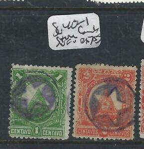GéNéReuse Honduras (p0206b) 1 C, 2 C Sc 40, 41 Liège Star Annule Vfu