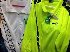 DIADORA full Tuta Da Ginnastica Poliestere whiteor Lime brightat £ 25 tutte le dimensioni ridotte per X/L