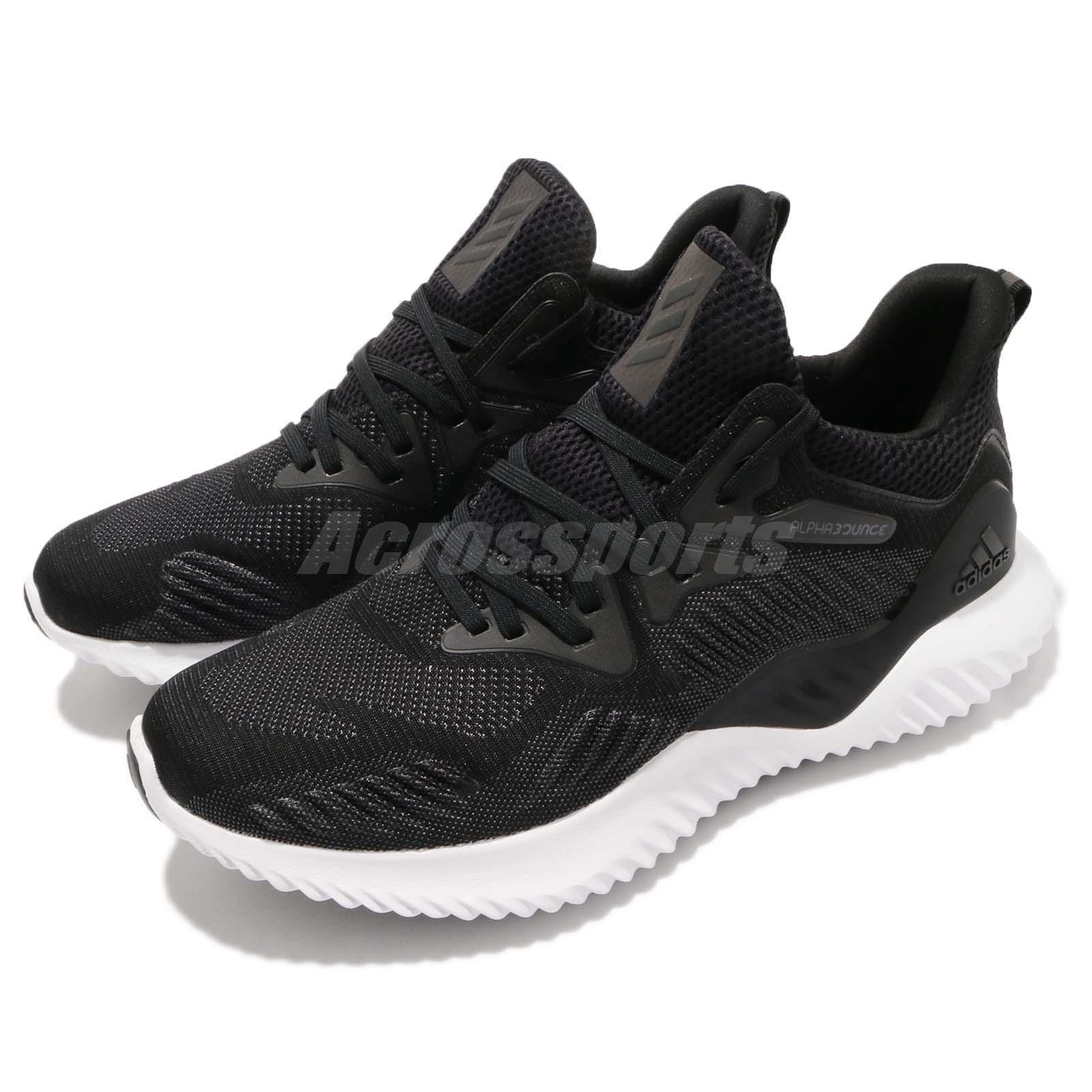 Adidas Alphabounce Beyond rebote Negro Negro Negro blancoo Hombres Correr M Zapatos Tenis AC8273 bfd82e