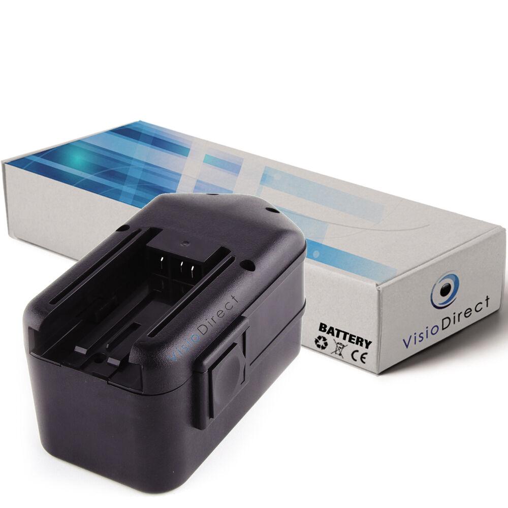 Batterie 18V 3300mAh pour Milwaukee 0902-24 - Société Française -