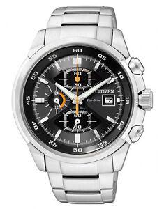 Citizen CA0130-58E Mens Eco-Drive Solar Watch WR100m Chronograph RRP $599.00