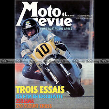 MOTO REVUE N°2247 SUZUKI RM 370 CROSS KTM 125 JAWA 350 ISDT PATRICK PONS 1975