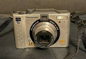 Lumix-DMC-LC20-Panasonic-Digital-Camera-Silver-Excellent-Condition-and-Tested