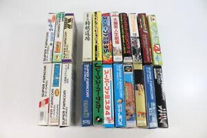 WHOLESALE-Lot-of-22-Nintendo-Super-Famicom-Boxed-Games-SFC-SNES-Japan-Import