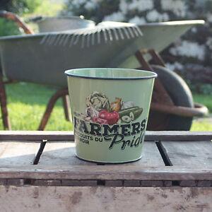 Farmers Fierté Pot de fleurs Ranch imprimer Casserole à Herbes ...