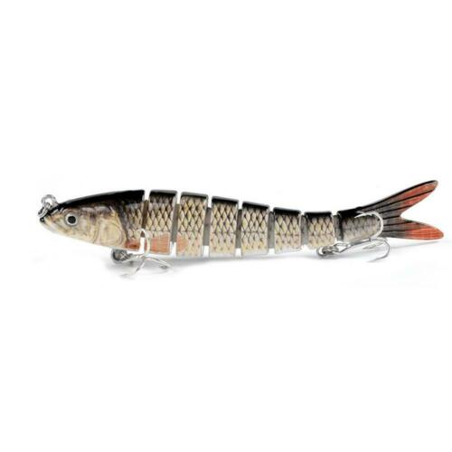 Lure Fishing Muskie Lure Pike Artificial Isca 8-segement 14CM Fishing Nice S3S3