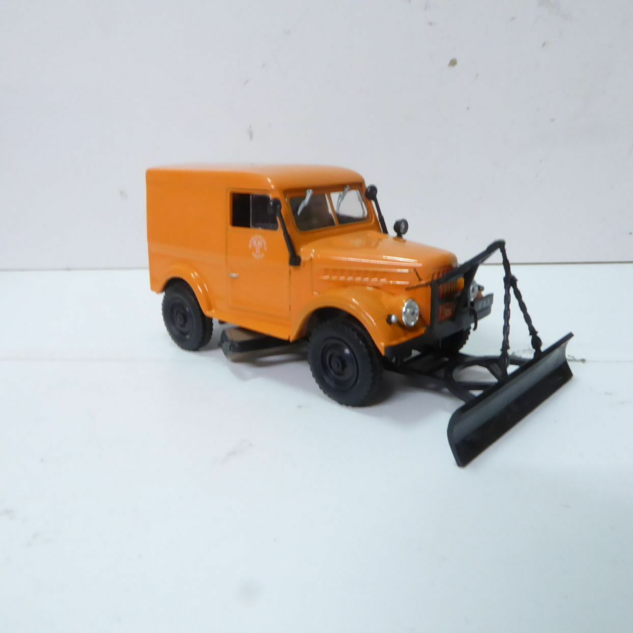 Is Models 1 43 USSR   USSR CCCP RUSSIA GAZ T-3 3-69 Snow Shovel Pusher Car