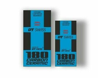 DT Swiss 240s SP Bicycle Hub Decal Road MTB Sticker Adhesive Set Blue 2 Pcs