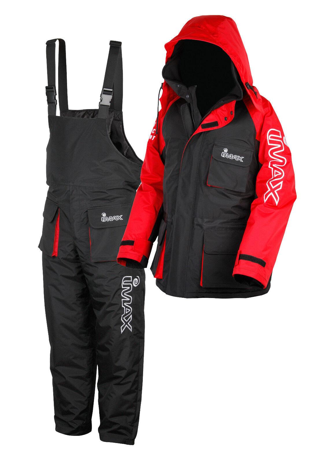 Imax Thermo Suit 2 Pièces thermoanzug Hiver Costume Veste Et Pantalon Doubleure