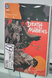 BATMAN-DEATH-AND-THE-MAIDENS-9-ISSUE-SET