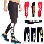 Womens Workout Legging Yoga Gym Fitness Running Training Pants Apparel
