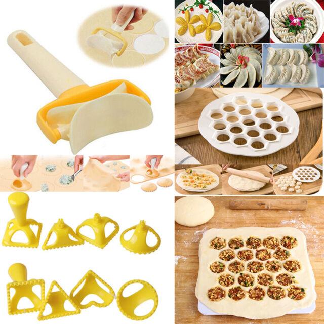 Dumpling Mold Maker Gadgets Dough Press Ravioli Cooking Pastry Kitchen Tools