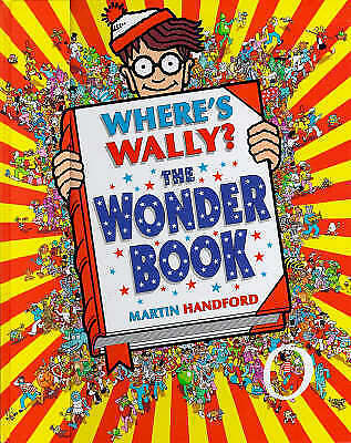 1 of 1 - Where's Wally?: The Wonder Book, Handford, Martin, Very Good Book