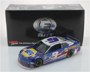 NASCAR 2019 CHASE ELLIOTT #9 PATRIOTIC NAPA BATTERIES ELITE 1:24 CAR