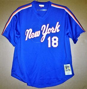 watch 7f56c 0fa8c Details about NEW YORK METS DARRYL STRAWBERRY MITCHELL & NESS COOPERSTOWN  COLLECTION JERSEY