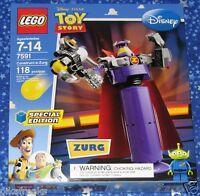 Construct A Zurg Lego Disney Pixar Toy Story 7591 Special Edition Play Set Misb