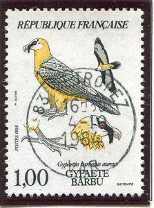 Courageux Stamp / Timbre France Oblitere N° 2337 Faune Baratus Barbu Un BoîTier En Plastique Est Compartimenté Pour Un Stockage En Toute SéCurité