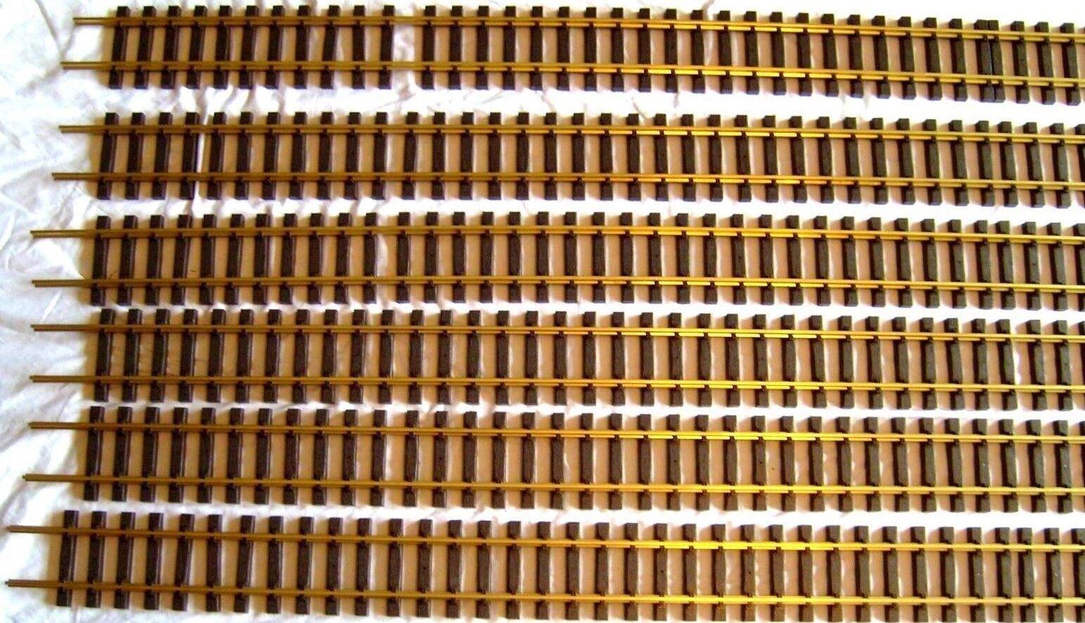 American la línea principal 12 Pcs G201-01 código 332 6' Latón Flextrack Nuevo