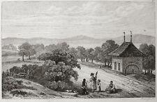 Murtensee Merlach Beinhaus zu Murten Suisse osario Charnier 1838
