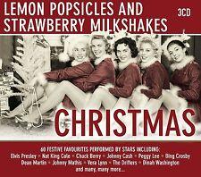 CHRISTMAS Peggy Lee, Elvis Presley, Brenda Lee, Johnny Cash, Vera Lynn 3 CD NEU