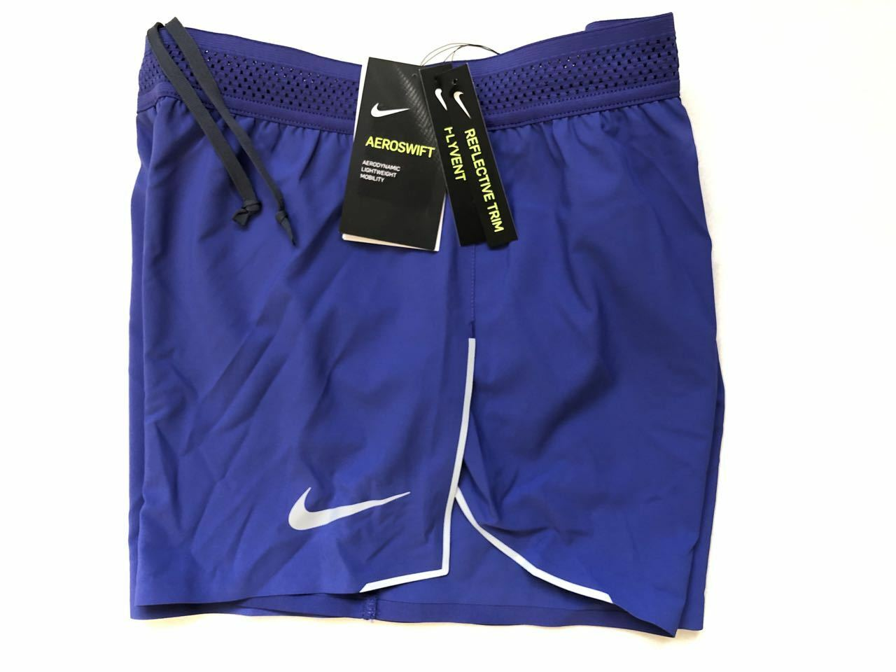 NIKE AEROSWIFT SHORTS L NEW WITH TAGS RUNNING 4'' FLYVENT WORKOUT SHORTS  PANTS