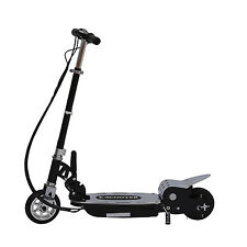 Aosom Teens Kids 24V 120W Electric Scooter Motorized Ride On Bike Folding Black