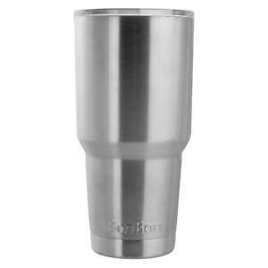 81ac0dbc11b Details about BonBon 30 Ounce Tumbler Stainless Steel Cup with Lid (SILVER)