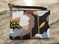 Fossil Small Printed Wristlet - Dark Floral Multi Abstract