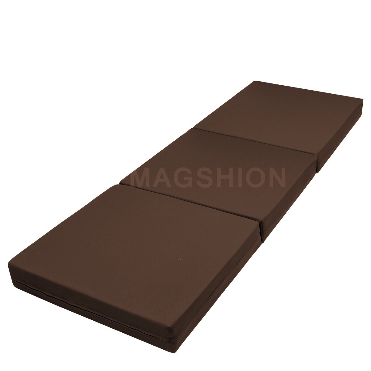 Floor mattress tatami foam mat foam bed trifold folding mattresses brown ebay Where to buy mattress foam
