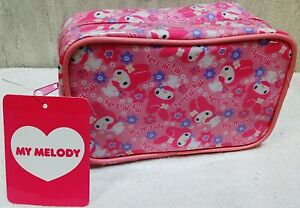 Rare-Sanrio-Japan-Limited-My-Melody-Cute-Pink-Makeup-Cosmetic-Case-Pouch-Bag-New