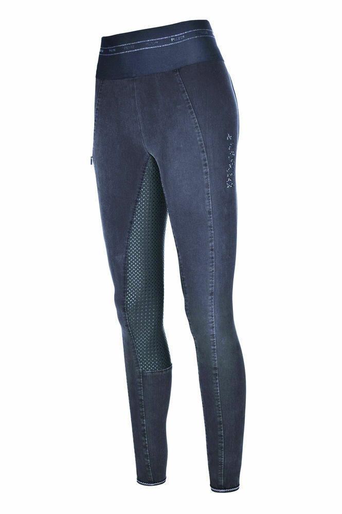 Pikeur Grip Jeans Reithose Ivana Athleisure in navy