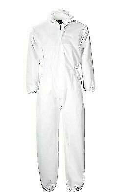 Large Car Maintenance Hygiene Protection PORTWEST ST11WHRL White Portwest Disposable PP Coverall