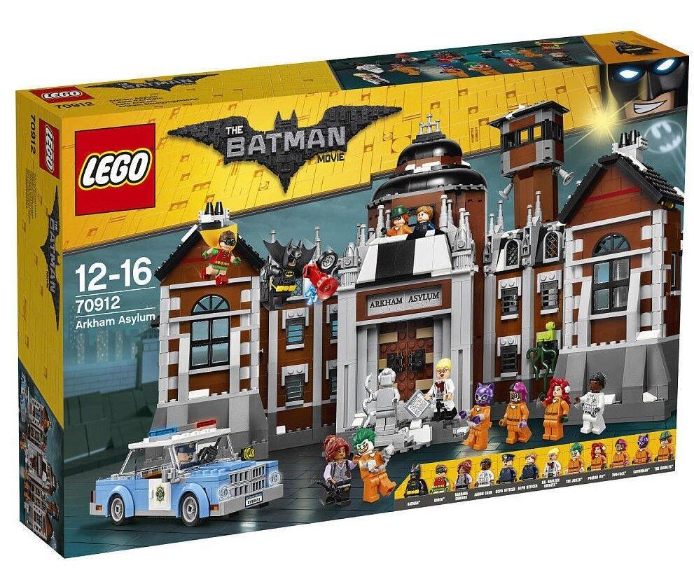 The Lego Batman Film Arkham Asylum Set 70912