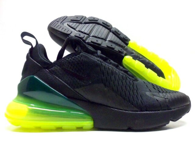 the latest 3a04c b5ce3 Nike Air Max 270 Neon Green Black Volt Men Running Shoes SNEAKERS  Ah8050-011 8